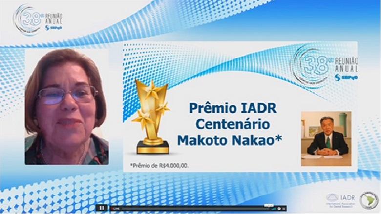 Brazilian IADR Centennial Award named in honor of GC chairman Makoto Nakao