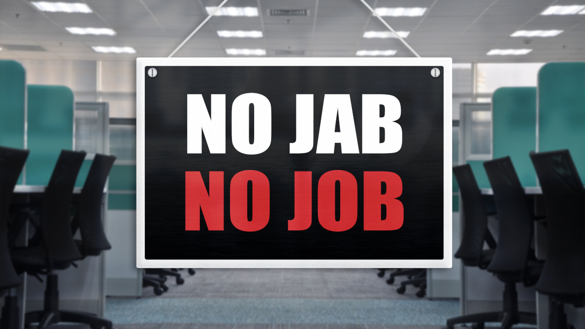 COVID-19 jab for oral health care workers: Protection against virus or condition of employment?